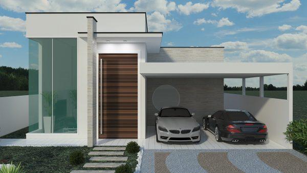 100 modelos de casas modernas for Modelos de residencias modernas