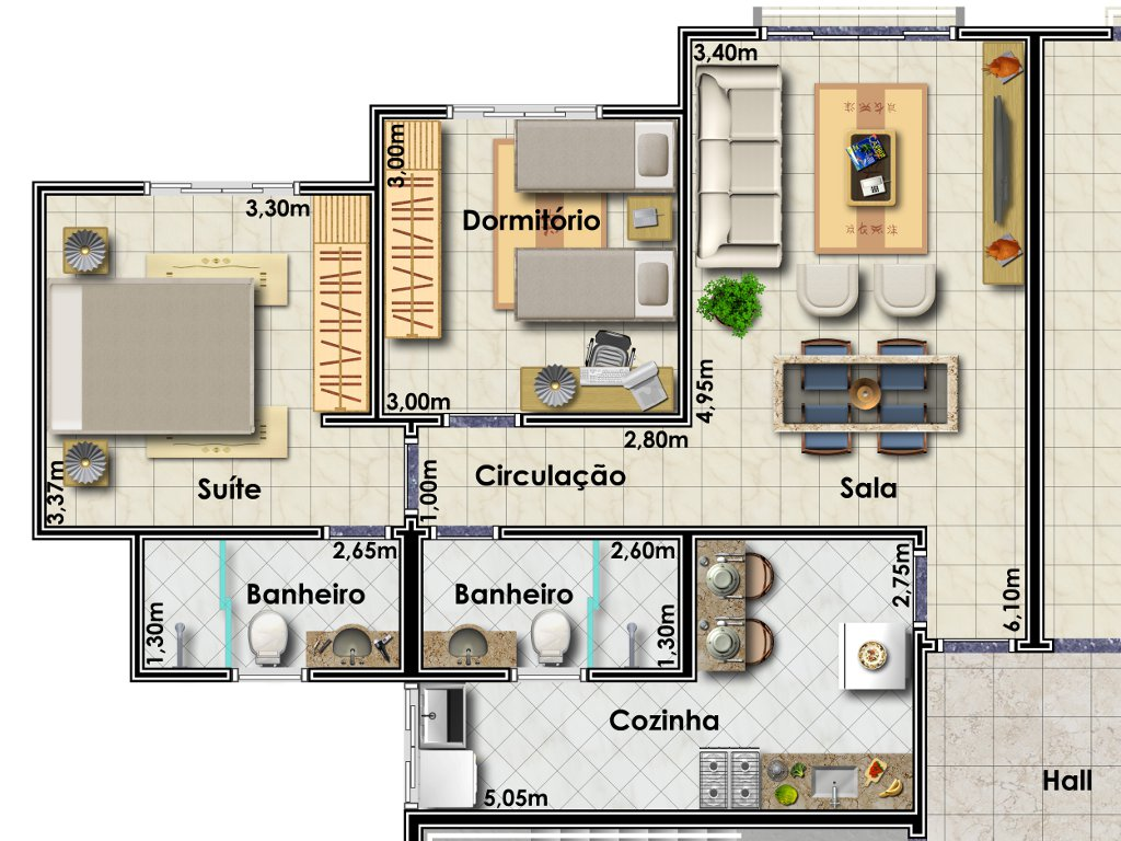 Habitacion 3d Online Plantas De Casas 37 Modelos Para Inspirar