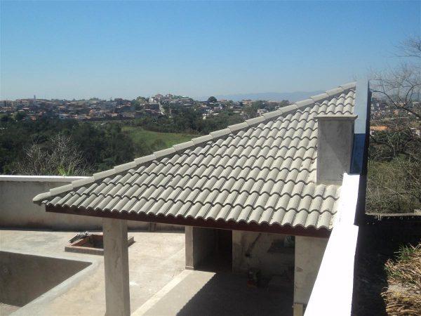 telhado de concreto