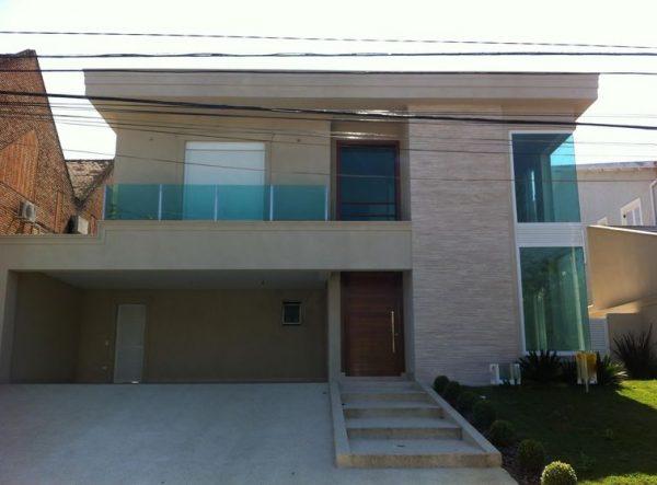 Projetos de casas com telhado embutido for Tipos de cielorrasos para casas