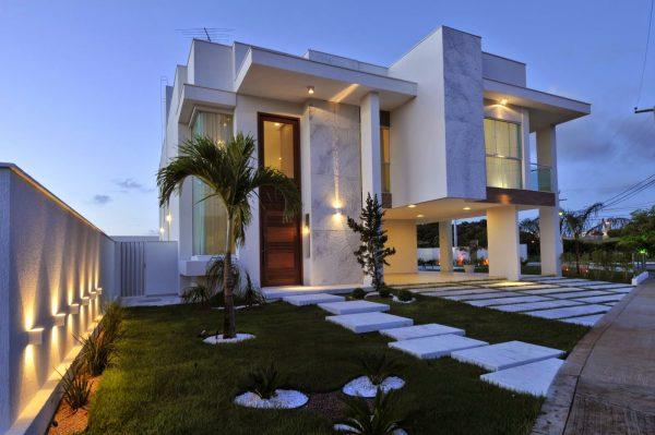 100 modelos de casas modernas for Modelo de fachadas para casas modernas