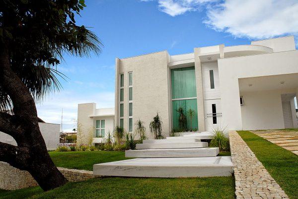 100 modelos de casas modernas for Modelos de fachadas modernas