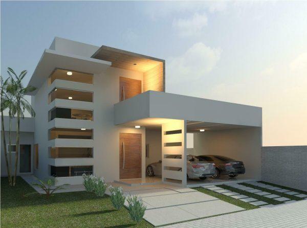 linda-fachada-moderna-para-casas