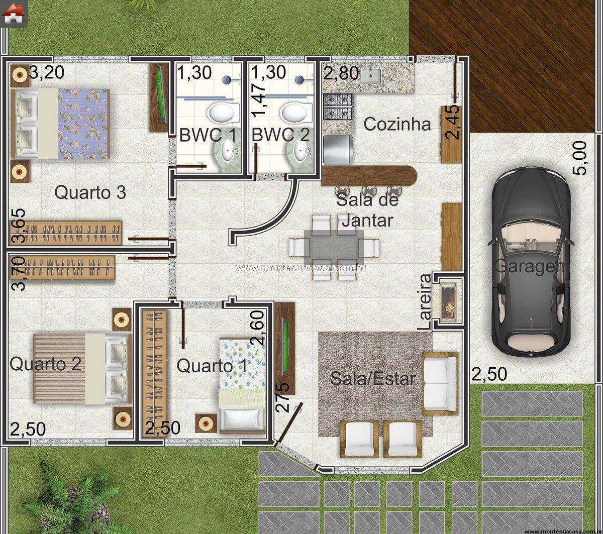 10 Projetos de Casas Modernas