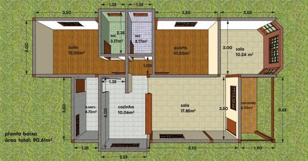 Plantas de Casas: 37 modelos para inspirar