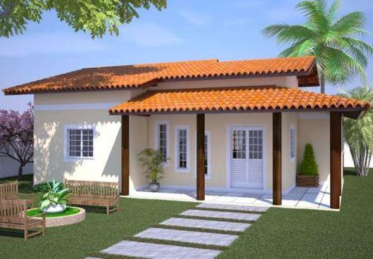 Plantas de casas criativas conhe a 20 modelos for Modelos de casas minimalistas pequenas